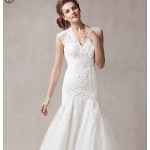 <<New with Tag>>Melissa Sweet Wedding Gown SIZE 10